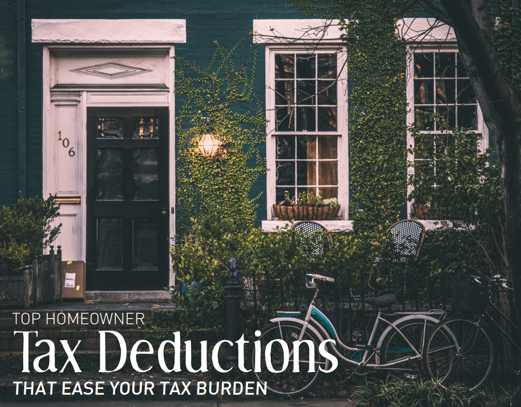 Top Homeowner Tax Deductions