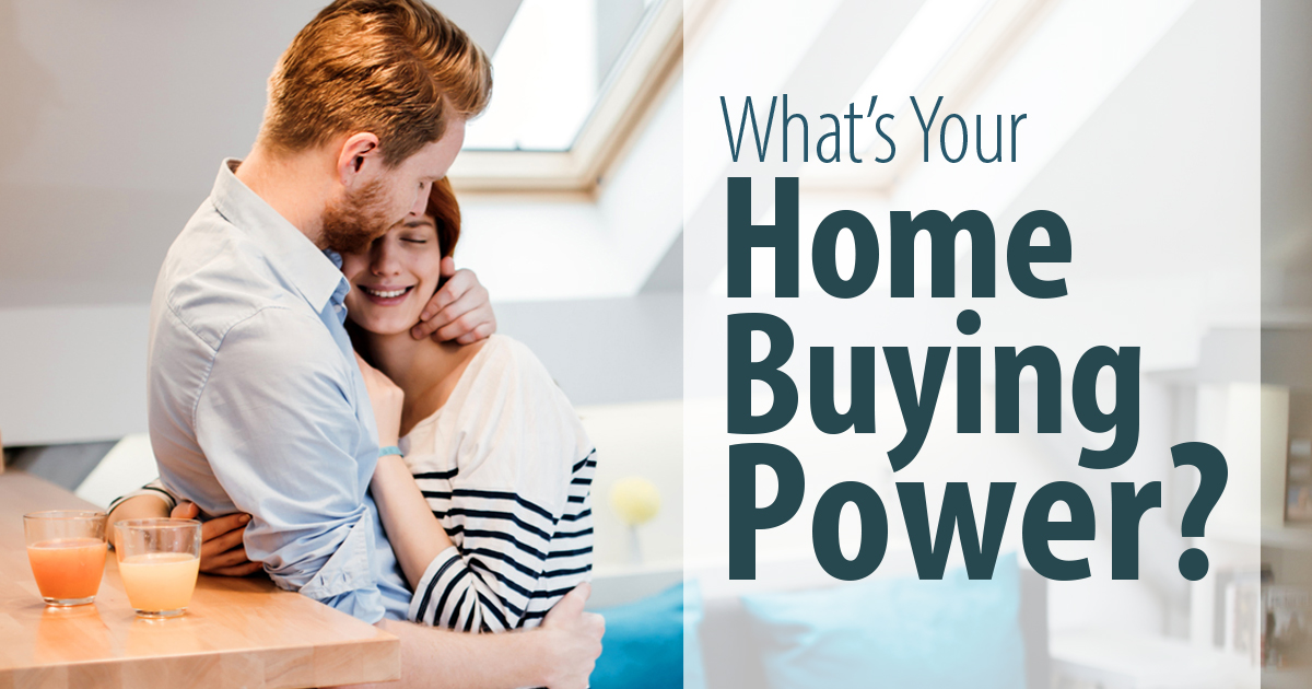 What's Your Home Buying Power?