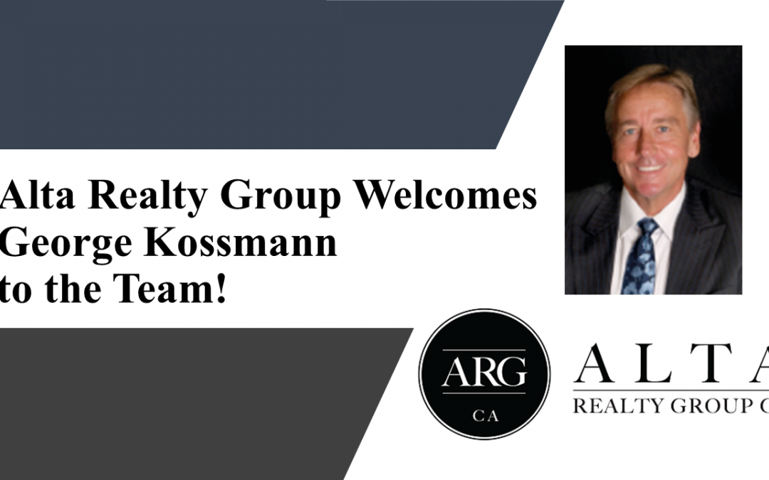Alta Realty Group Welcomes George Kossmann to the Team